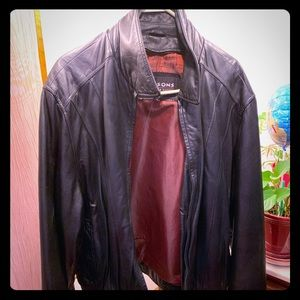 Just a kick around leather jacket for you